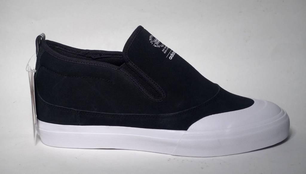 Adidas Adidas Matchcourt Mid Slip on - Black/White