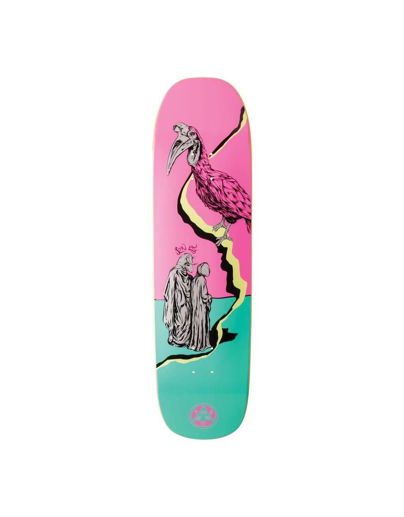 Welcome Welcome Ryan Lay Inferno on Stonecipher Pink/Teal Deck - 8.6 x 32.5