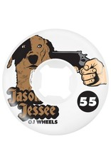 OJ wheels OJ 55mm Jesse Dog Revenge EZ edge 101a wheels (set of 4)