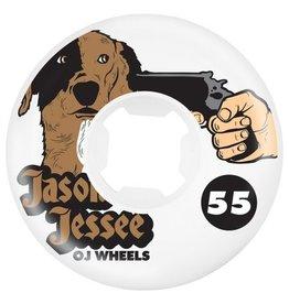 OJ wheels OJ 55mm Jesse Dog Revenge EZ edge 101a wheels (set of 4)