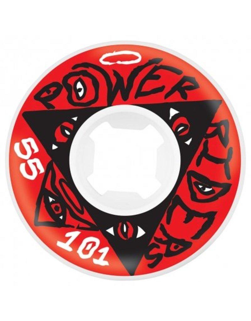 OJ wheels OJ 55mm Power Riders 101a wheels (set of 4)