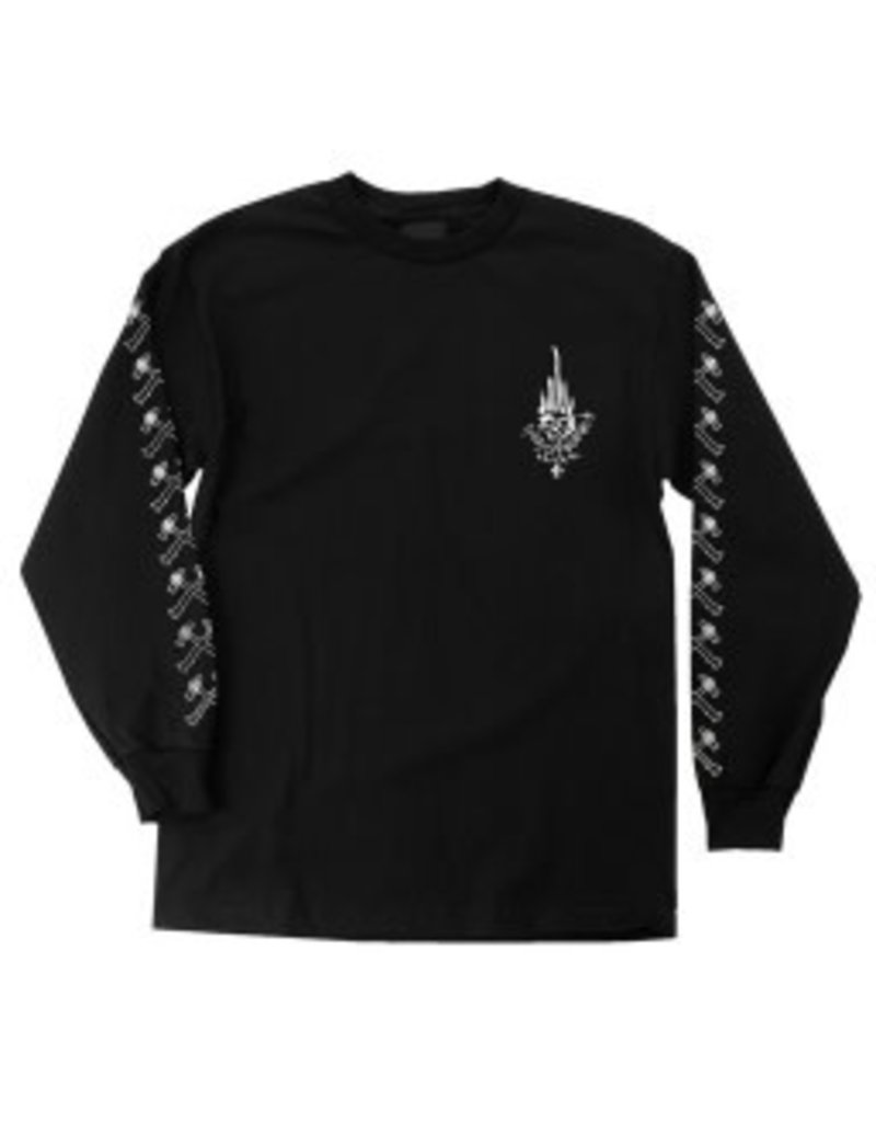 Independent Independent Jessee Black and White longsleeve t-shirt - Black