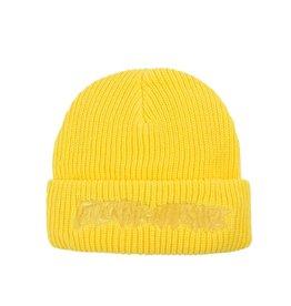 Fucking Awesome Fucking Awesome Tonal Beanie - Yellow