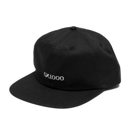 GX1000 Gx1000 OG Logo 6 panel Hat - Black