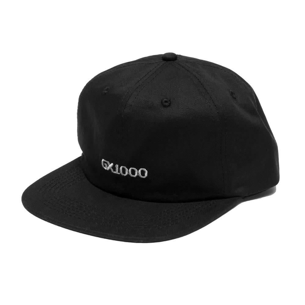 GX1000 Gx1000 OG Logo 6 panel Hat - Black