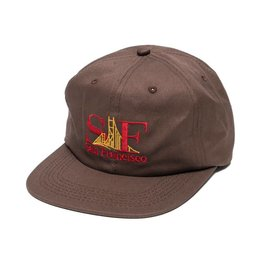 GX1000 Gx1000 GXSF 6 Panel Hat - Brown