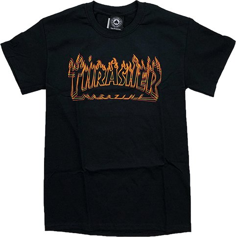 Thrasher Mag Thrasher Richter T-shirt - Black