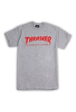 Thrasher Mag Thrasher Skate Mag Logo T-shirt - Grey (size Medium)