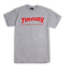 Thrasher Mag Thrasher Skate Mag Logo T-shirt - Grey (size Medium)