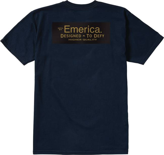 Emerica Emerica MFG CO Pocket T-shirt - Navy