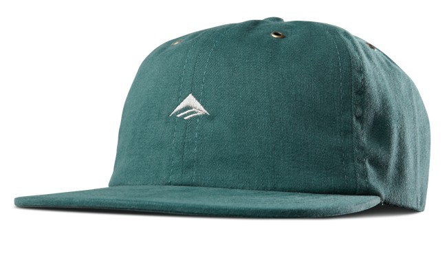 Emerica Emerica Try Strapback Hat - Hunter Green