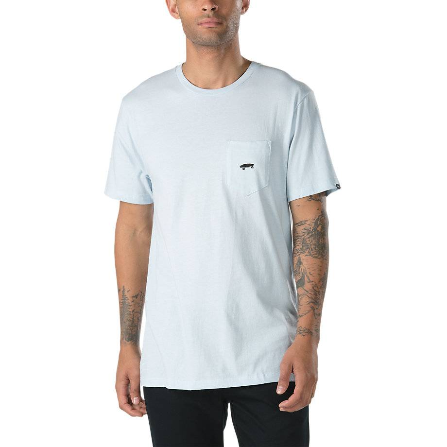 Vans Vans Everyday Pocket T-shirt - Baby Blue