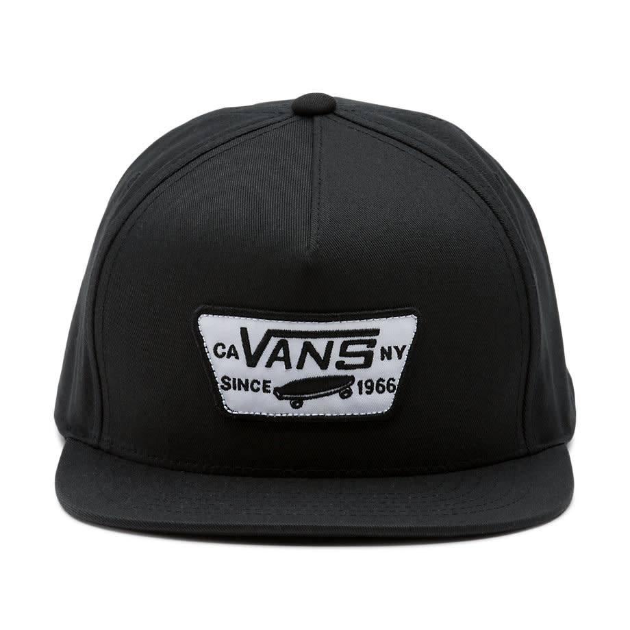 Vans Vans Full Patch snapback Hat - Black