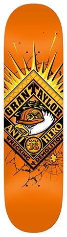 Anti-Hero Anti-Hero Taylor Demolition Orange Deck - 8.5