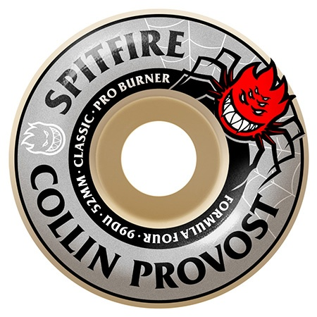 Spitfire Spitfire Formula Four Provost 52mm 99d wheels (set of 4)