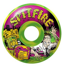Spitfire Spitfire Formula Four Toxic Apocalypse 54mm 99d Wheels (Set of 4)