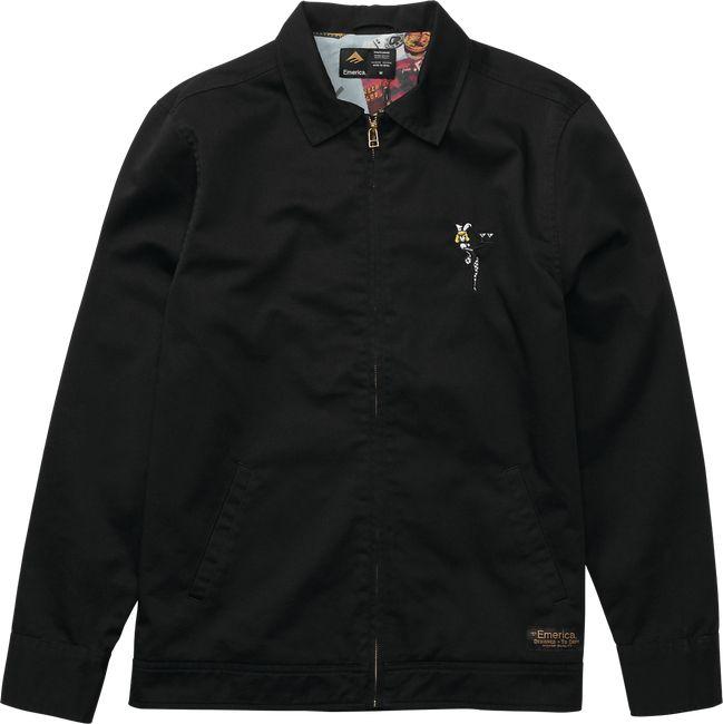 Emerica Emerica Gassed Jacket - Black