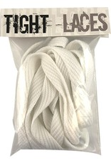 "Tight Laces Tight Laces flat 45"" - White"