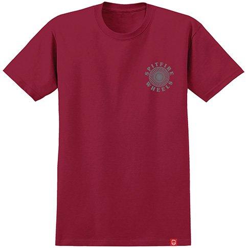 Spitfire Spitfire OG Classic T-shirt - Cardinal/Grey