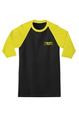 Anti-Hero Anti-Hero Stock Eagle 3/4 Sleeve T-shirt - Black/Gold