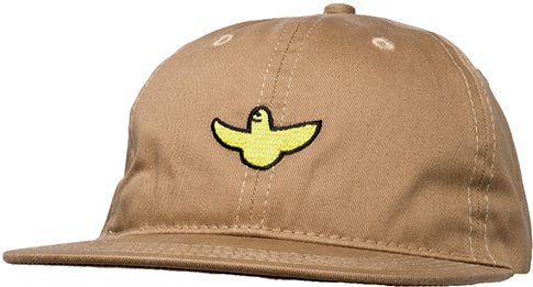 Krooked Krooked OG Bird EMB 6 Panel Hat - Khaki