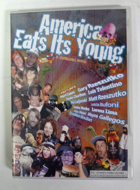 America Eats It's Young dvd -  Rockstar Bearings (Preowned)