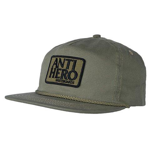 Anti-Hero Anti-Hero Reserve Patch Snapback Hat - Aloe Green