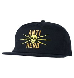 Anti-Hero Anti-Hero Stay Away Snapback Hat - Black