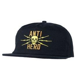 Anti-Hero Anti-Hero Stay Away Snapback Hat - Black