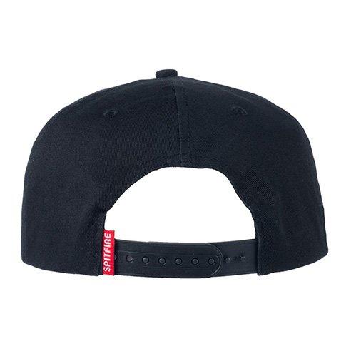 Spitfire Spitfire Bighead Snapback Hat - Black/Camo