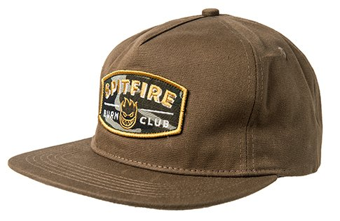 Spitfire Spitfire Burn Club Hat - Brown