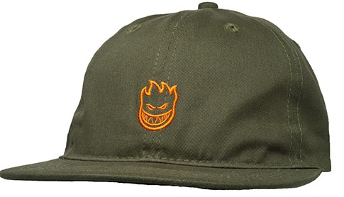 Spitfire Spitfire Lil Bighead Outline Hat - Army