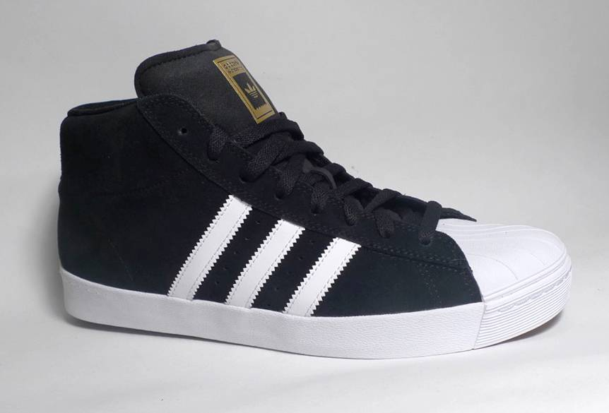 Adidas Adidas Pro Model Vulc ADV - Black/White/Gold