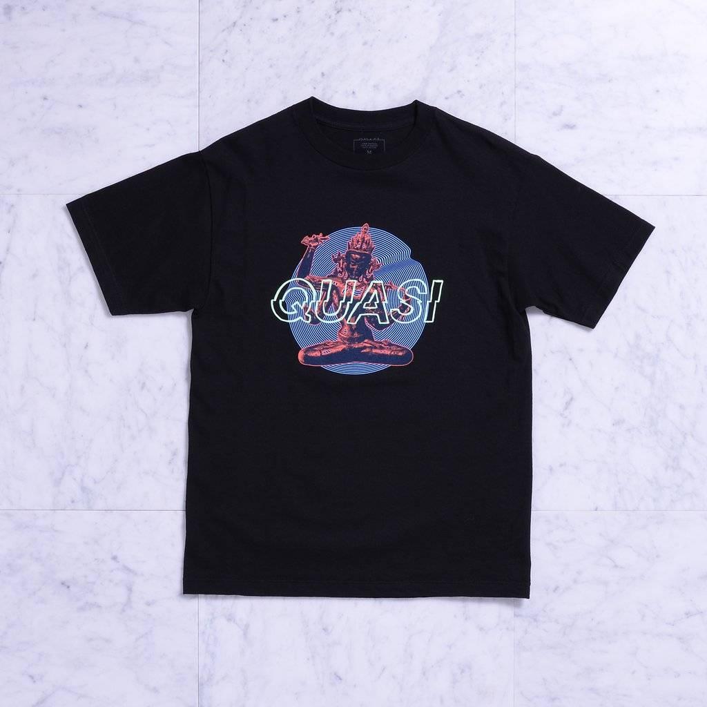 Quasi Quasi Lotus T-shirt - Black