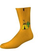 Psockadelic Psockadelic Peyotee Pee 2 Orange Socks
