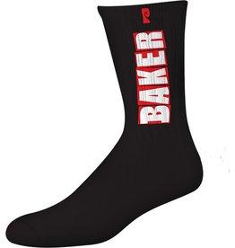 Psockadelic Psockadelic Black Baker Socks
