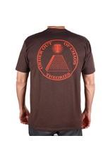Theories Brand Theories Chaos T-shirt - Espresso (size Medium)