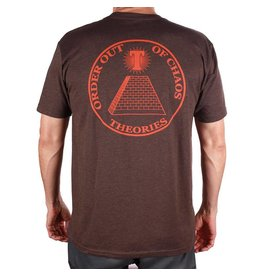 Theories Brand Theories Chaos T-shirt - Espresso