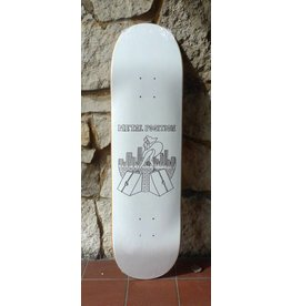 Dead On Arrival D.O.A. Metal Position Deck - 8.5