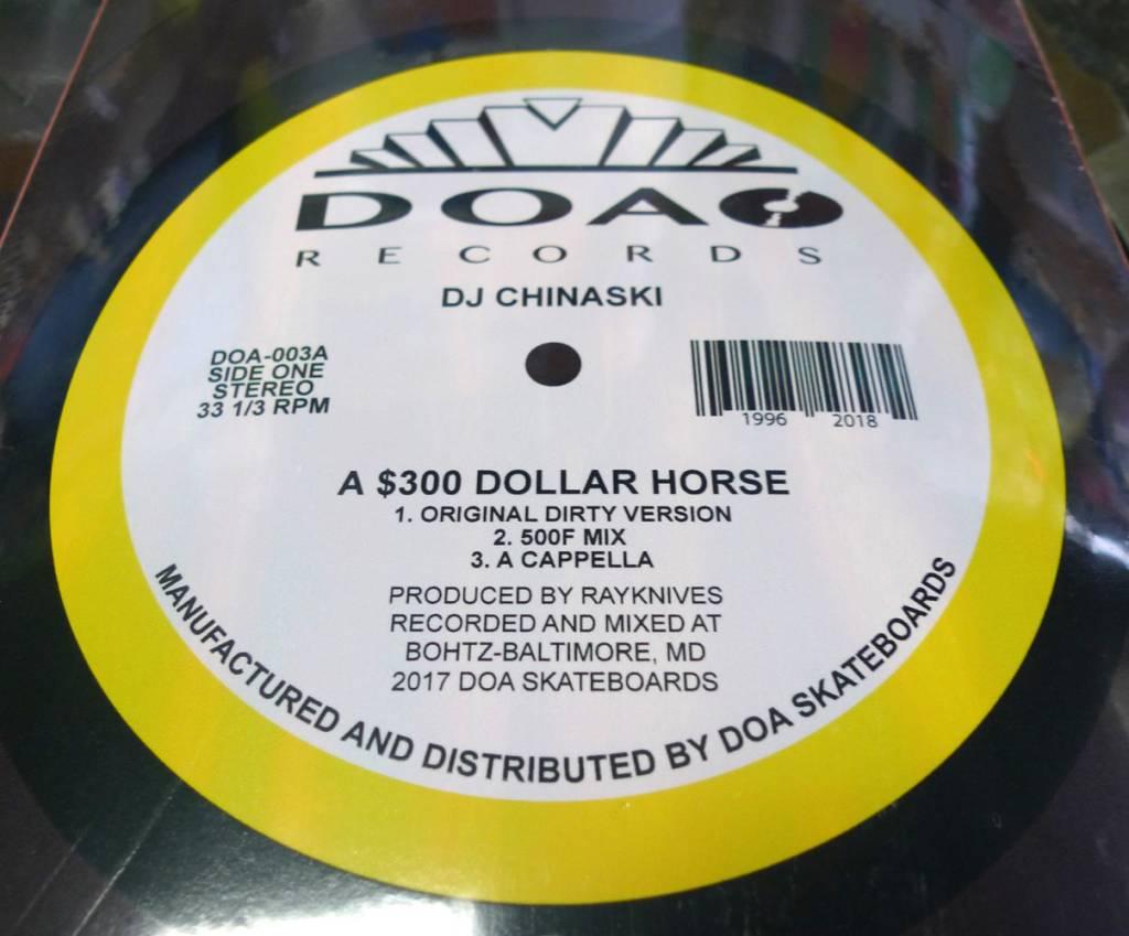 Dead On Arrival D.O.A. 500F x DOA Record Deck - 8.0