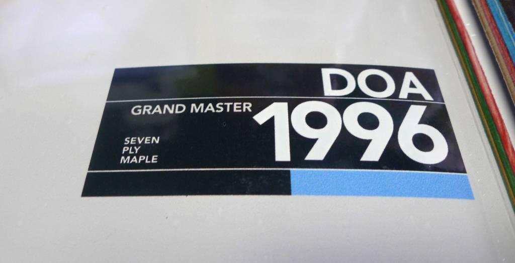 Dead On Arrival D.O.A. Grandmaster Deck - 8.0