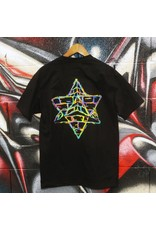 Pyramid Country Pyramid Country LA Tech T-shirt - Black/Rainbow