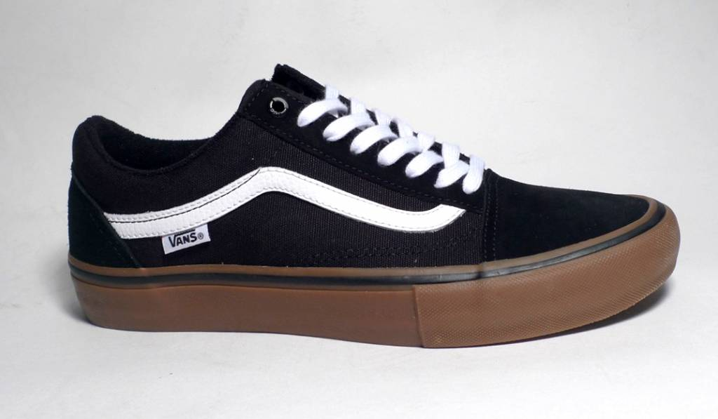 Vans Vans Old Skool Pro - Black/White/Medium Gum (size 9 or 11)