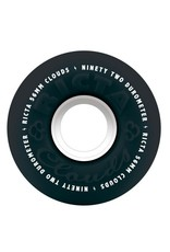 Ricta Ricta 56mm Clouds 92a Black/White Wheels (Set of 4)