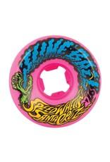 Santa Cruz Santa Cruz Slime Balls Vmit Mini Neon Pink 97a 54mm Wheels (set of 4)