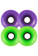 OJ wheels OJ 60mm Hot Juice Green and Purple  78a wheels (set of 4)