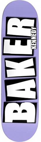 Baker Baker Kennedy Brand Name Purple Deck - 8.25