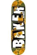 Baker Baker Zorilla Brand Name Rose Gold Deck - 7.75