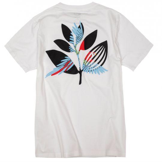 Magenta Magenta Parrot T-shirt - White