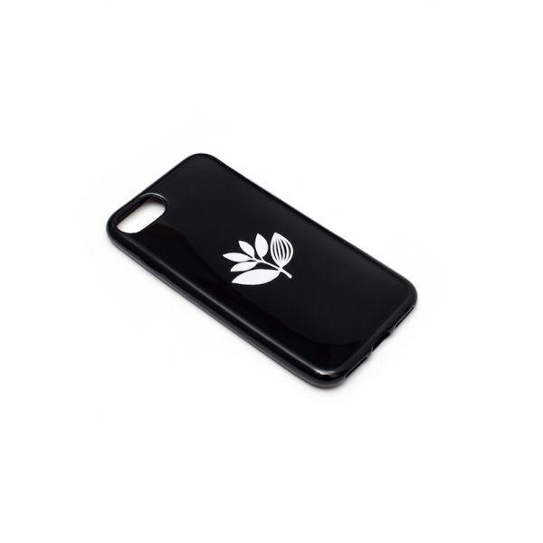 Magenta Magenta Plant Phone Case - Black Iphone 7